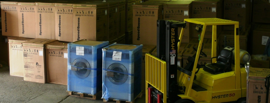 100's of washers and dryers in stock for immediate delivery